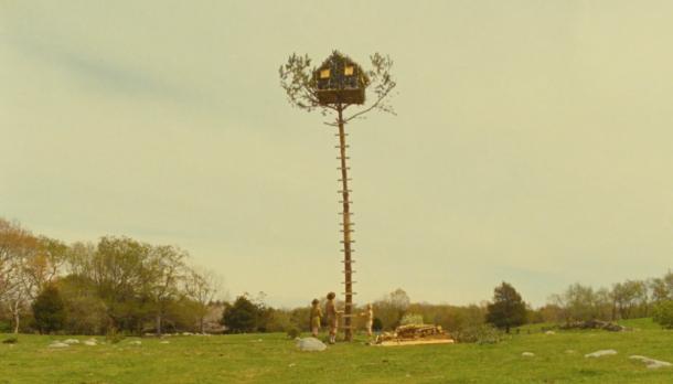 Troop 55 plans atop a precarious perch