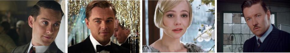 Gatsby Characters: Nick, Gatby, Daisy, Tom