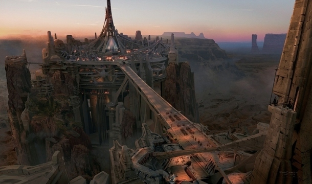 Zodanga, evil Martian city