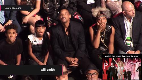 Smith family VMAs reaction to Miley