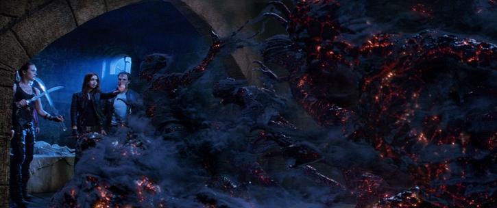 City of Bones Finale Scene Magic Powers