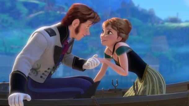 Frozen Anna and Hans