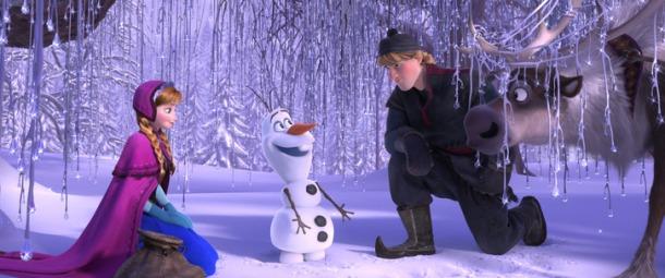 Frozen Anna Kristoff Olaf Snowman Sven Reindeer