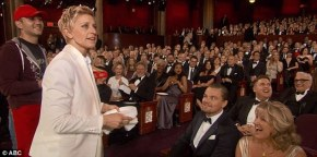 Pizza at the Oscars:  Recap of a Laid- Back Sunday Night