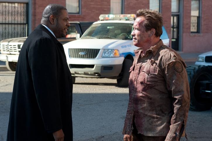The Last Stand Forest Whittaker Arnold Schwarzenegger