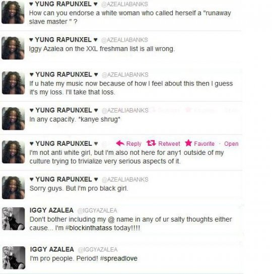 azealiavsiggy twitter feud