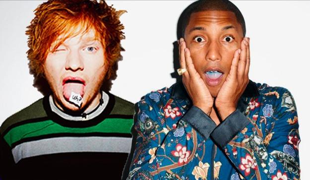 Ed Sheeran Pharell
