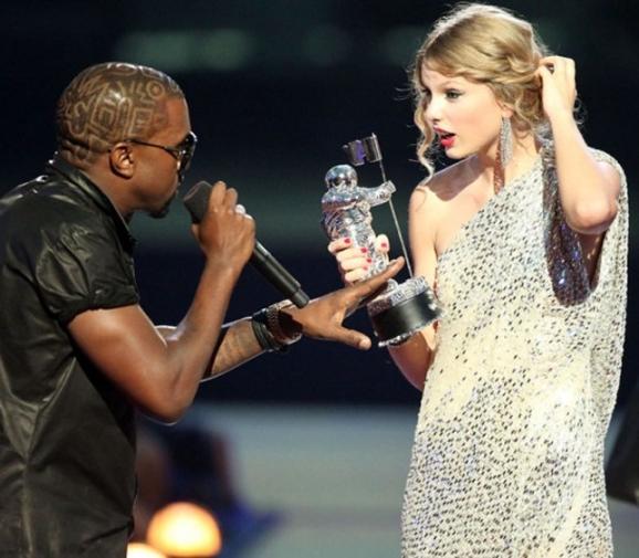 Kanye vs. Taylor at the VMAs