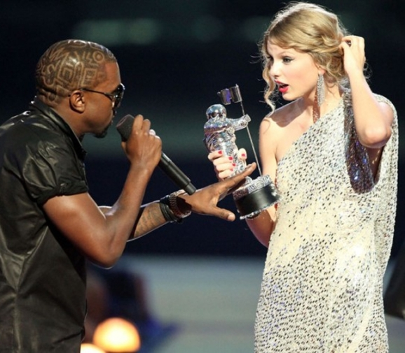 Kanye vs. Taylor at the VMAs