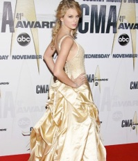 Taylor at the CMA Awards