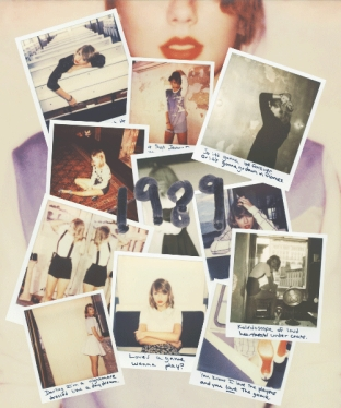 The hard copy comes with lots of polaroids of Taylor.