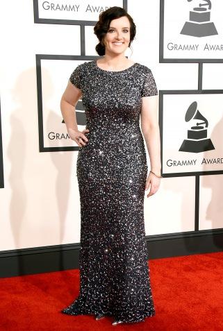 Country singer Brandy Clark got noms for Best New Artist and Best Country Album. Respect!