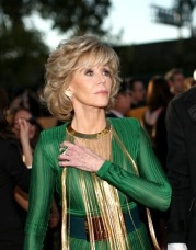 Jane Fonda came as producer Richard Perry's date and totally killed it in Balmain