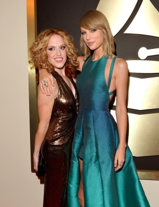 Taylor and her date, Abigail!