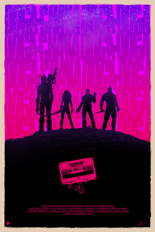 Guardians of the Galaxy by Marco Manev