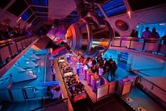 Tomorrowland Space Mountain Interior