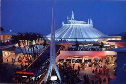 Tomorrowland Space Mountain exterior
