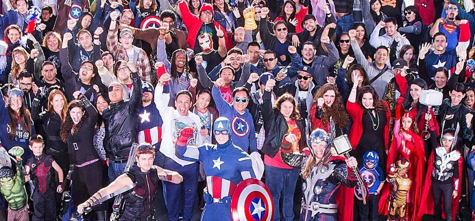 April 27, 2015 Avengers: Age of Ultron Fan Event.