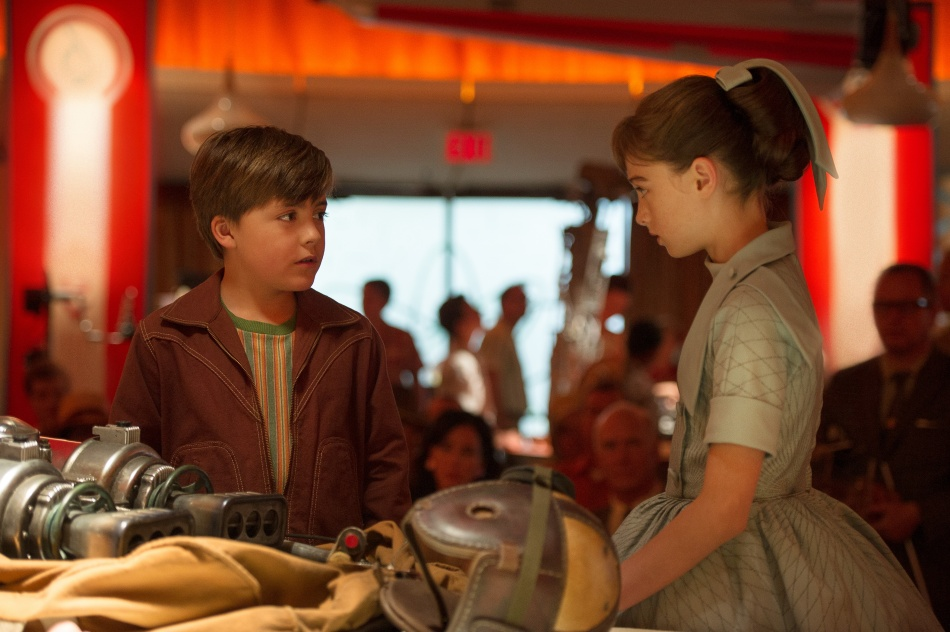 Tomorrowland little boy and girl