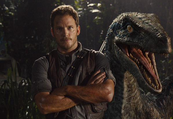 Jurassic World Chris Pratt Velociraptor Whisperer