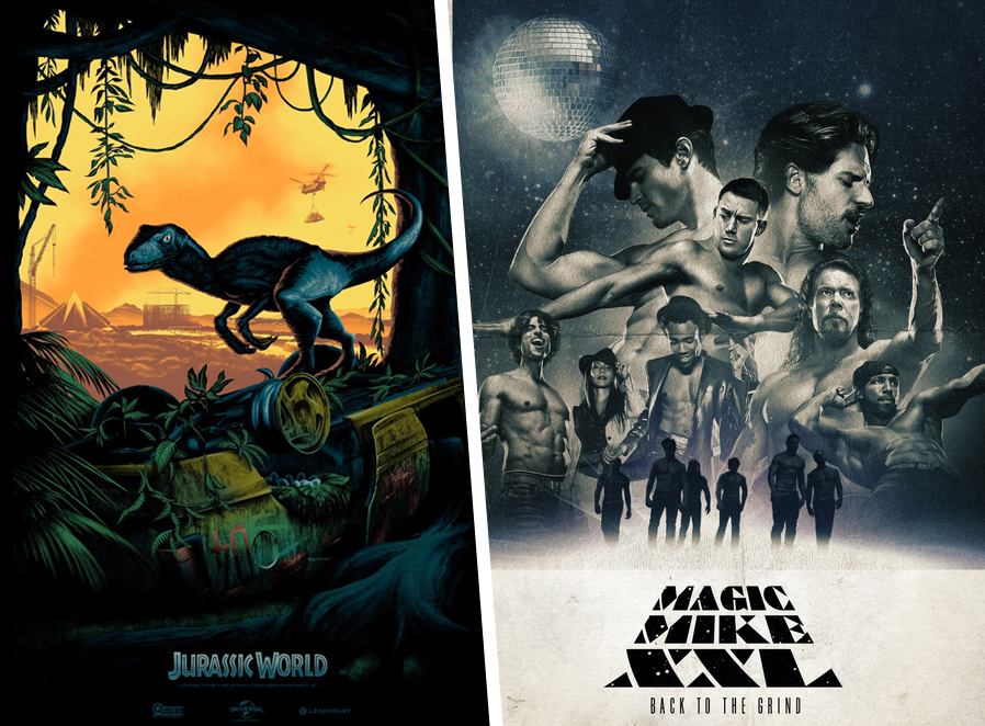 Jurassic Park vs. Magic Mike