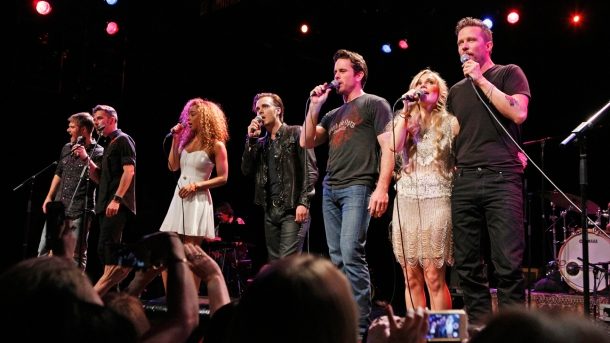 CHRIS CARMACK, SAM PALLADIO, CHALEY ROSE, JONATHAN JACKSON, CHARLES ESTEN, CLARE BOWEN, WILL CHASE