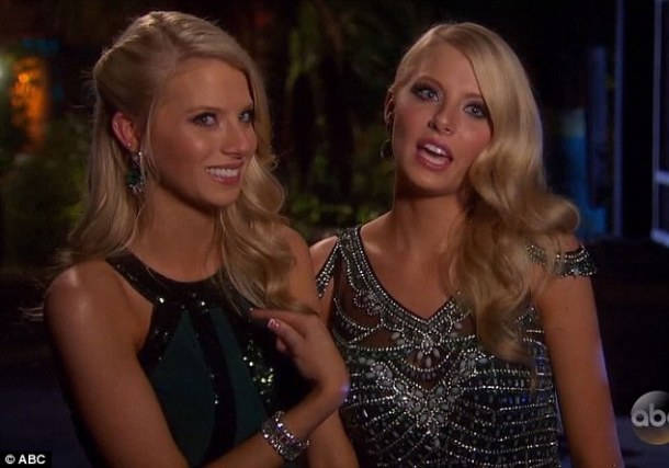 Hailey and Emily The Bachelor