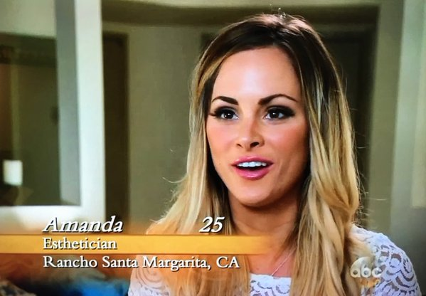 Amanda Stanton The Bachelor