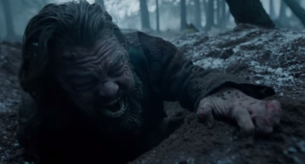 The revenant leo in a ditch