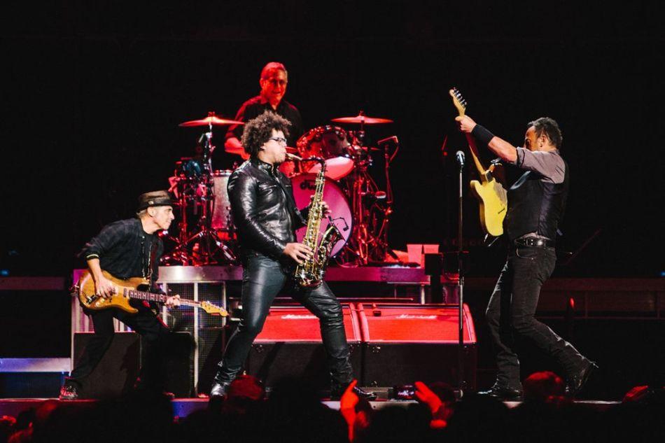 Jake Clemons Bruce Springsteen The River Tour 2016