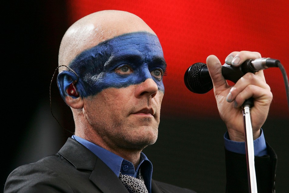 Michael Stipe Proud Blue