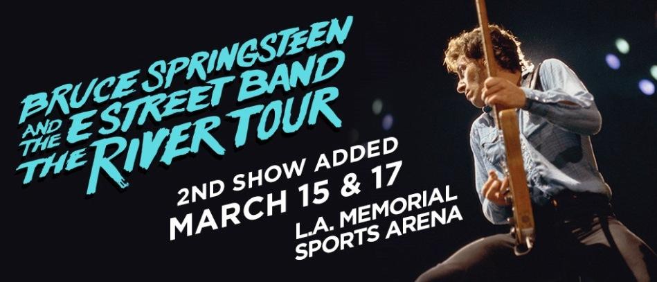 Bruce Springsteen The River LA Memorial Sports Arena