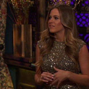 JoJo wears a two- piece Mac Duggal Homecoming Dress