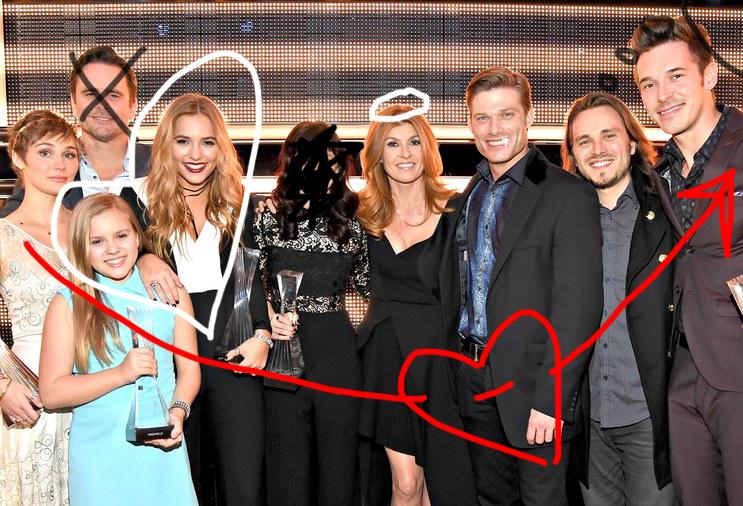 nashville-cast-2015- CMAs-doodles