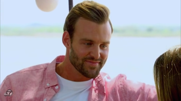 robby-bachelorette-hair- pink shirt