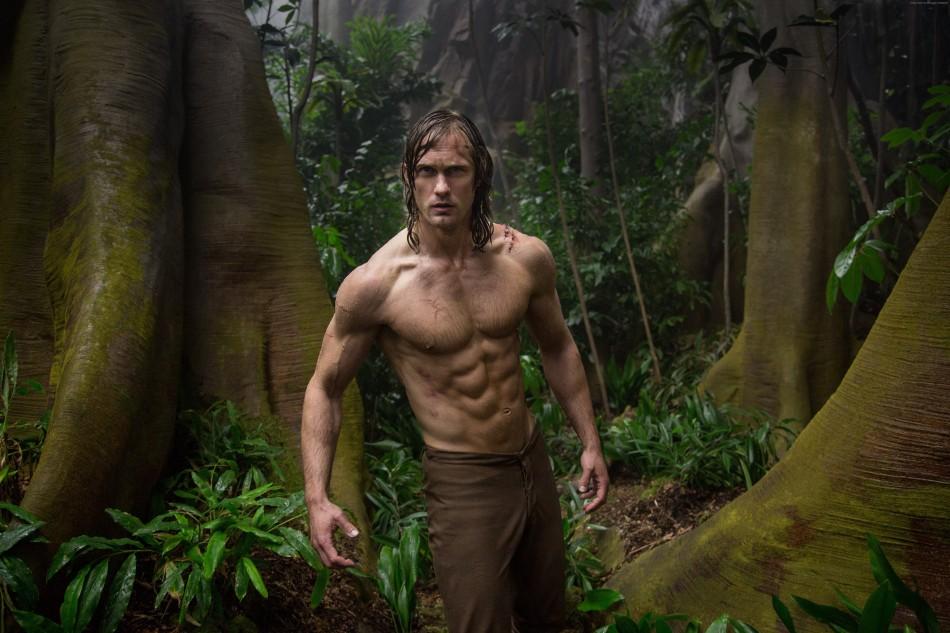 The LEgend of Tarzan Alexander Skarsgard Abs