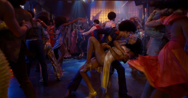 The Get Down Zeke and Mylene Disco Dip Dance