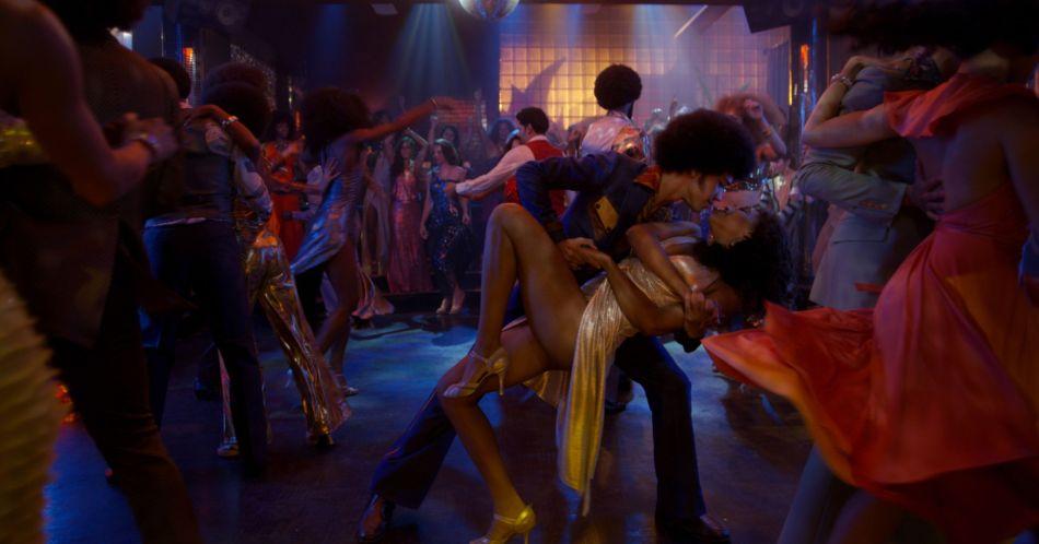 The Get Down Zeke and Mylene Disco Dip Dance
