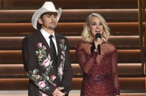 Probably the closest we'll get to Brad Paisley in actual paisley. I vote Yes on Embroidered Jacket for men.