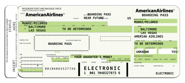 boarding-pass-zone boarding American Airlines