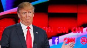 trump faces