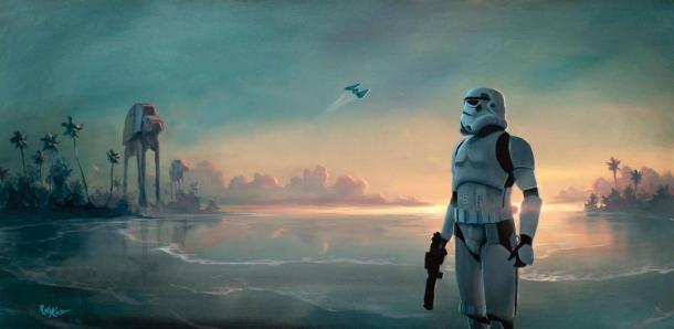 Rogue One Art Storm Trooper
