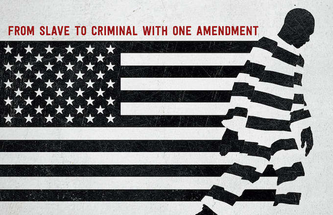 13th Netflix documentary banner