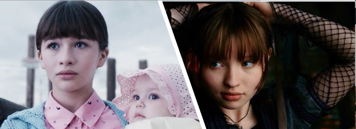 Emily Browning vs. Malina Wiessman A Series of Unfortunate Events