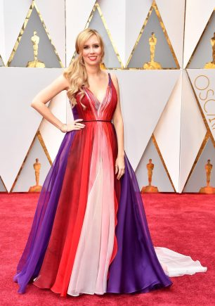 Allison Schroeder, Best Adapted Screenplay nominee, in Leanne Marshall