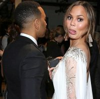 Chrissy Teigen can make all the ugly faces she wants