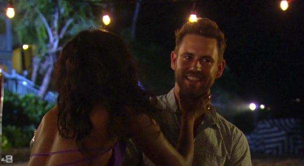 The Bachelor Jasmine Chokes Nick