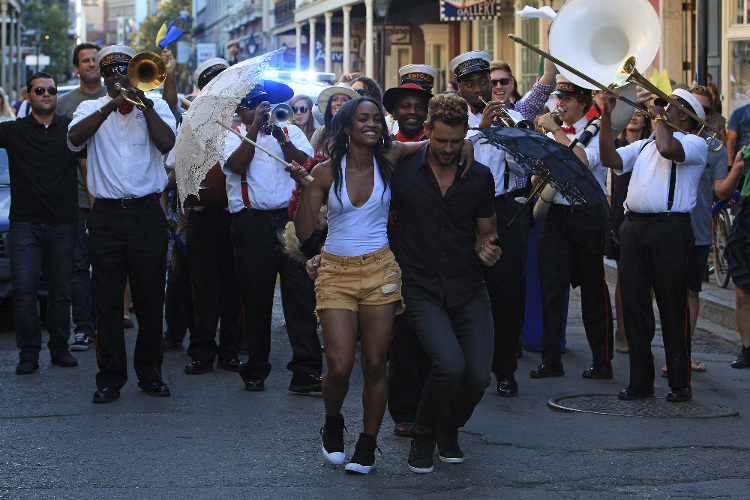 The Bachelor Rachel Nick Second Line New Orleans