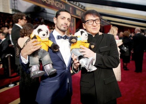Jackie Chan and Riz Ahmed for China