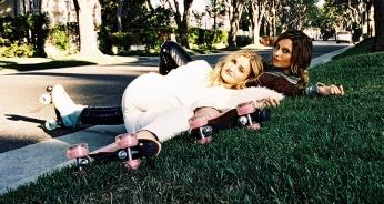 Aly & AJ Roller Blades